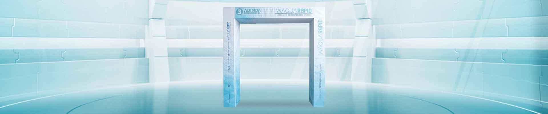 Waqua Rapid Dezenfeksiyon Tüneli